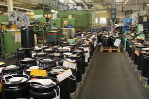 Blick in die Produktion: Kupferdraht für die Wicklungen der Motoren<br />
