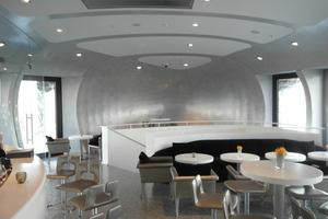 2. Platz in der Kategorie Trockenbau: Pavillon Hafenspitze in Düsseldorf<br />