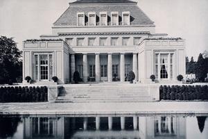 Fotografie der Villa Feinhals (1908) in Köln Marienburg<br />