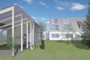 Der Modernisierungs-Entwurf sieht großzügige Dachfenster für eine optimale Versorgung mit Tageslicht und frischer Luft vor