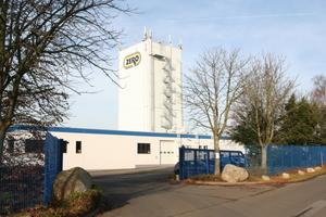 Wenige Minuten von den Autobahnen A2 und A30 entfernt liegt der Firmensitz von Zero-Lack in Bad Oeynhausen