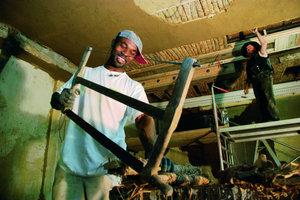"""<div class=""""4.6 Bildunterschrift"""">Spezialauftrag für die Bauhütte Knepper: Die Restaurierung einer Lehmwickeldecke im Haus Letmathe in Iserlohn</div>"""