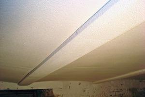 Die fertige Gewölbedeckendämmung kann abschließend mit einer handelsüblichen Fassadenfarbe überstrichen werde<br />Fotos: Beck+Heun<br />