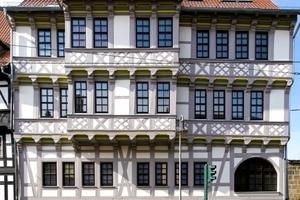 Bei der Sanierung des 1671 in Halberstadt errichteten Fachwerkhauses kam eine speziell für Fachwerk entwickelte Innendämmung zum Einsatz Foto: Knauf Aquapanel