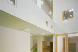 Einen weiteren zweiten Preis gab es in der Kategorie Design für Franke Seiffert Architekten aus Stuttgart und den Stuckateurbetrieb Klaus Haug aus Tübingen für den Neubau des Kinderhauses St. Marin in Tübingen<br />