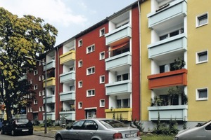 Diese Wohnungen aus den 1970er Jahren haben durch sanierte Balkone eine deutliche Aufwertung erfahren<br /><br />