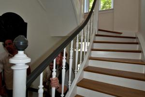 Treppe im Wohnhaus in Saarbrücken<br />