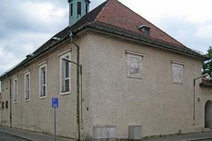 Die 1929 in Nürnberg errichtete St. Franziskuskirche vor Beginn der Sanierungs- und Umbauarbeiten<br />