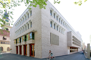 Hospitalhof Stuttgart nach Fertigstellung