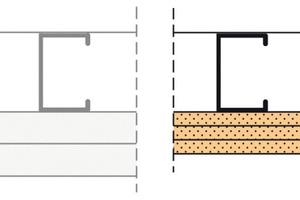 Schachtwand F90 beziehungsweise El90 2 x 25 mm GKF ohne Dämmstoff  3 x 12,5 Firepanel A1 ohne Dämmstoff