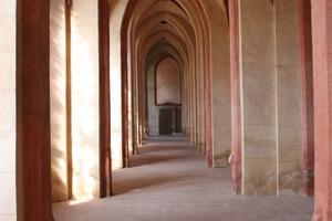 Seitenschiff in der Basilika<br />