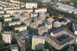 In Innsbruck entsteht mit dem Olympischen Dorf für die Jugendwinterspiele 2012 das zurzeit größte zertifizierte Passivhaus-Projekt der Welt<br />