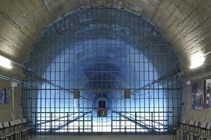 Ausblick in den zurückgebauten Tunnel