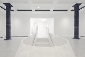 Vom ehemaligen Foyer geht es in die Tiefen der Kunst<br />Fotos (2): Benedikt Kraft<br />