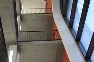 Das sanierte Treppenhaus