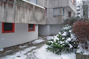 So sah es an der Nordseite der Wohnhäuser in Kassel vor der Sanierung aus Fotos (2): GWG<br />