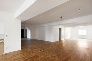 Im Obergeschoss des Museums entschied sich der Architekt für das zweilagige System des Flächenhohlbodens Gifafloor-FHB. Darauf wurde ein Parkett aus Echtholz verlegt<br />Fotos: Anja Köhler / Space4
