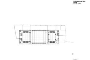 Grundriss Obergeschoss, ohne Maßstab