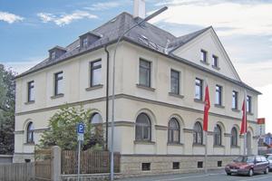 Das Untergeschoss der Geschäftsstelle der IG Metall in Münchberg wies Feuchteschäden auf