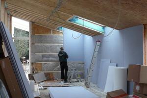 Der Innenausbau ist im Erweiterungsgebäude fast abgeschlossen<br />