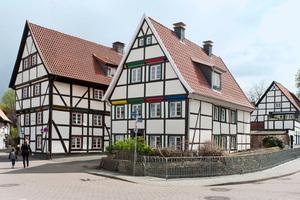 Das von innen mit Mineralplatten gedämmte Fachwerkensemble in Soest<br />Fotos: Ytong Multipor