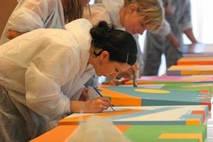 Die Sto-Stiftung fördert begabte aber wirtschaftlich schlechter gestellte Auszubildende im Malerhandwerk, die am Ende des zweiten Ausbildungsjahres stehen<br />Foto: Sto-Stiftung<br />