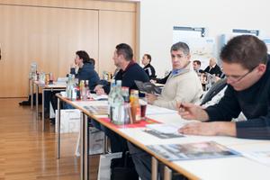 bauhandwerk Chefredakteur Thomas Wieckhorst führte die Zuhörer versiert durch die vier Fachforen-Veranstaltungen<br /><br />