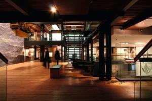 Seit 2008 beherbergt das umgenutze Kaispeicher B das Internationale Maritime Museum Hamburg<br />Foto: Thomas Wieckhorst<br />