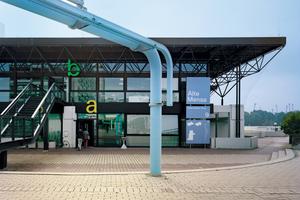 Für die Mensa Oberwiesenfeld in München gab es in der Kategorie Öffentliche Bauwerke Silber<br />Foto: mp-a