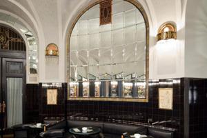 Die Amerikanische Bar im Prager Gemeindehaus<br />