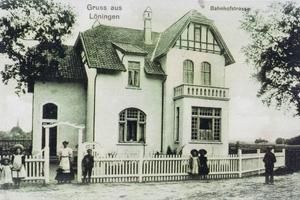 Historische Aufnahme der Villa Kösters in Löningen um 1907<br />