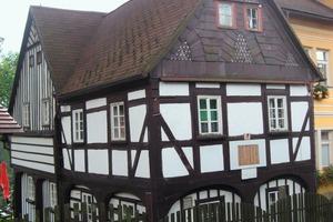 Zweigeschossiges Umgebindehaus in Mezin Luka<br />