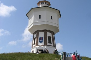 Ende Mai vergangenen Jahres&nbsp; konnten die ersten Urlaubsgäste im frisch sanierten Wasserturm begrüßt werden<br />