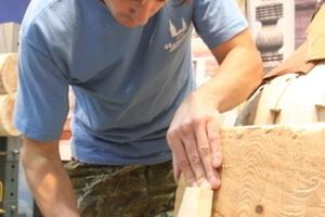 Herstellung von Holzschindeln<br />