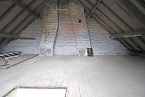 Der ehemals ungenutzte Dachboden