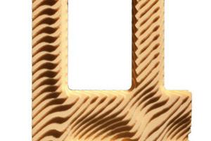 Ergebnisse der CNC-Fräsmaschine: Fräsung mit 30-Grad-Schnitten ...
