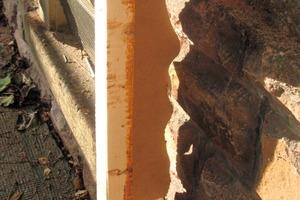 Vorsprünge und Vertiefungen stark unebener Fassaden lassen sich mit den T- und Doppel-T-Trägern so überbrücken, dass die Möglichkeit zur dauerhaften Befestigung von Holzfaserdämmplatten besteht