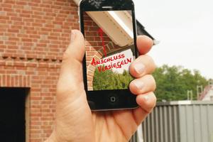 Durch einfach zu beschriftende Fotos wird die Dokumentation auf der Baustelle und die Kommunikation mit den Mitarbeitern vereinfacht<br />Foto: Rösler Software-Technik