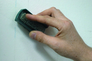 Reinigung von Wandflächen in der Praxis