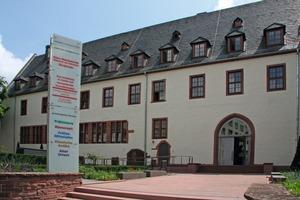 Portal zum sanierten Kloster in der Frankfurter Altstadt, Münzgasse<br />
