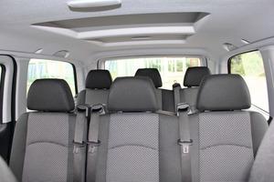 Die Crew-Variante des Mercedes-Benz Vito ist speziell für den Transport eines ganzen Bautrupps konzipiert<br />