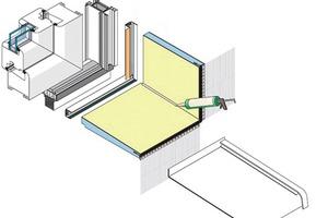 EMV-Systemfenster mit Keilplatte<br />Foto und Grafik: emv elements Deutschland GmbH