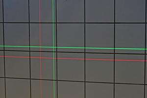 ... deren Linien bis zu viermal besser sichtbar sind als rote