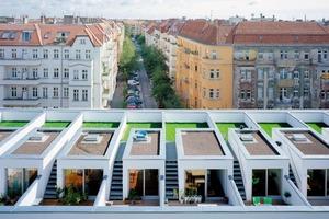 Neubauten in Berlin-Prenzlauer Berg nach Entwürfen des Büros zanderroth architekten<br />Foto: Simon Menges