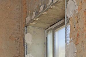 Bei ihren Putzerarbeiten vertrauten die Mitarbeiter der Firma Mönchsgut sowohl innen als auch außen auf Putzprofile der Firma Protektor