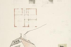 Skizzen zum Haus Olbrich von 1900<br />