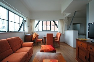 Blick in die Ferienwohnung im Erdgeschoss<br />Fotos: Thomas Wieckhorst<br />