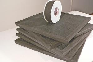 Lieferung in FünferpaketenFotos: Variotec / sculpur & function Architekturelemente