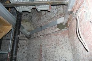 Die Stahlkonstruktion musste umfassend repariert werden<br />