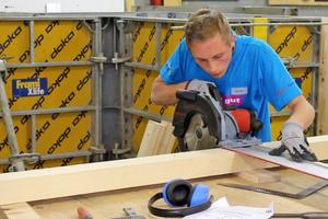 Deutsche Meisterschaft im Bauhandwerk in Krefeld